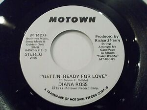 Diana-Ross-Gettin-Ready-For-Love-45-1977-Motown-Promo-Vinyl-Record