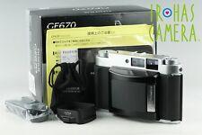Fujifilm GF670 Professional Medium Format Rangefinder Film Camera With Box#10622