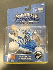 POWER BLUE GOLD RUSHER Skylanders Superchargers NEW Double Dare Trigger vehicle