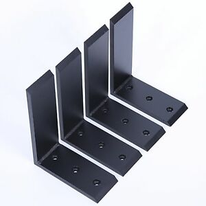 Image Is Loading 4 Heavy Duty Black Steel 6 X8 Countertop