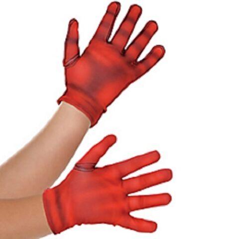 Marvel Avengers Assemble Captain American Gloves Child One Size
