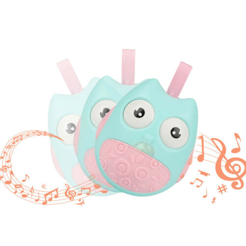 Funny Owl Tumbler Rattle Toys For Baby Roly-poly Toddler Stroller For Kids Gift