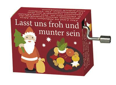 """Weihnachtslied Rolf Zuckowski /""""In der Weihnachtsbäckerei/"""" Spieluhr//Drehorgel"""