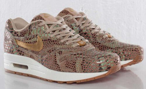 Nike Air Max 1 Año de la serpiente (yots) QS-Oro Metálico-Vela UK Size 6 Nuevo Y En Caja