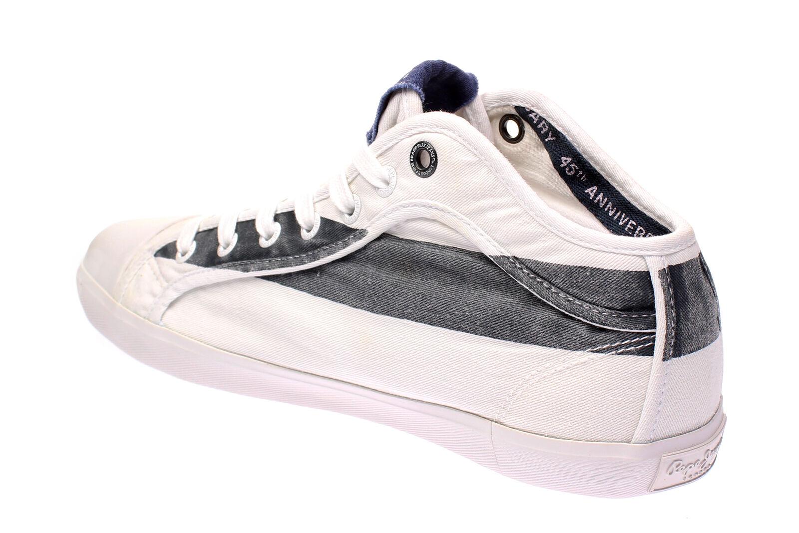 Pepe Footwear Herren PMS30431 IN 45 - Herren Footwear Schuhe Sneaker - 595-navy 392e86