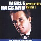 Merle Haggard: Greatest Hits, Vol. 1 by Merle Haggard (CD, Apr-1994, Curb)