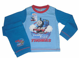 BOYS-PYJAMAS-THOMAS-THE-TANK-ENGINE-9-MONTHS-TO-6-YEARS