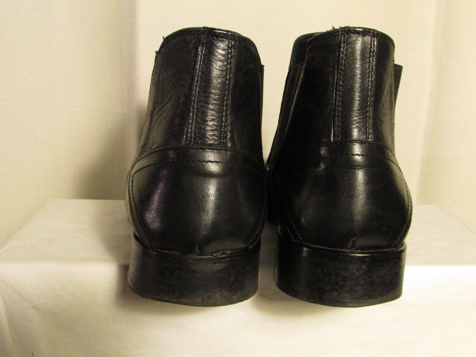 botas botines botines botines Vaqueros louis SCHERRER cuero negro número 45 d4ab1c
