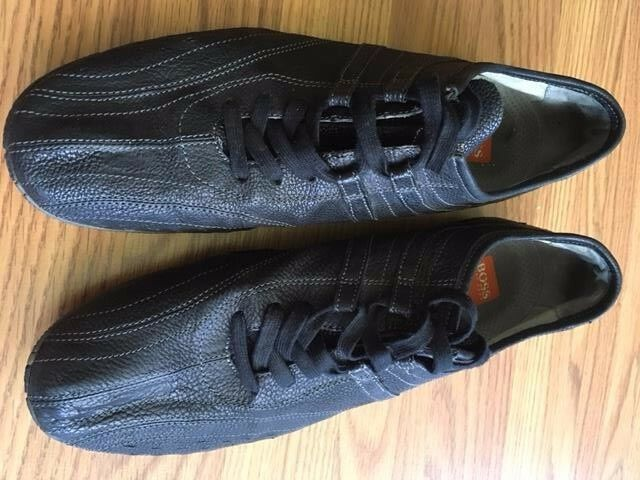 Hugo Boss men's fashion sneakers - size 10.  Bought in 2007; worn three times.