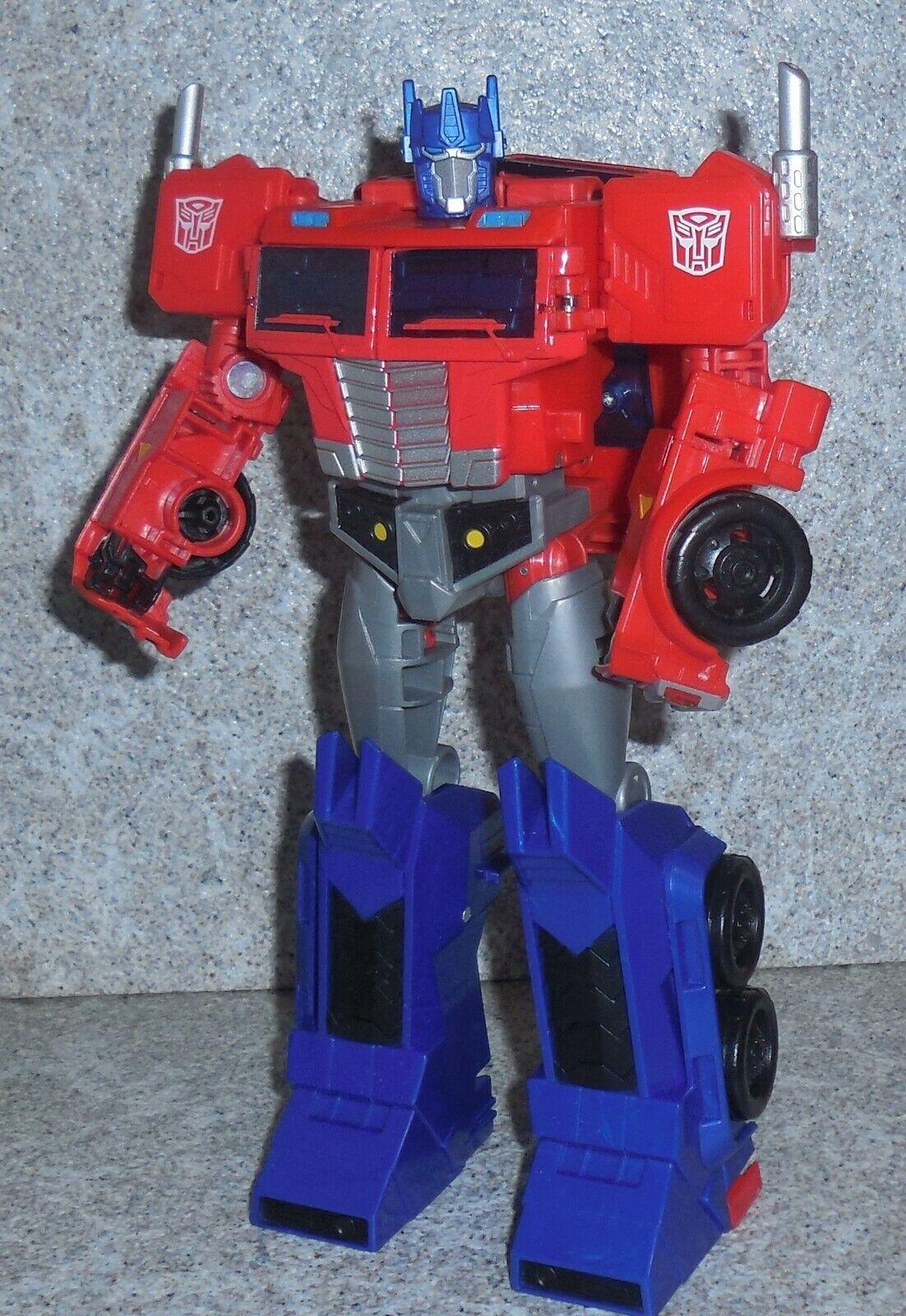Transformers Cyberverse Optimus Prime Completo Ultimate Matrix Shot Capo