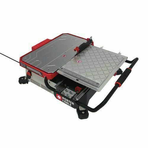 Pce980 7 Inch Table Top Wet Tile Saw