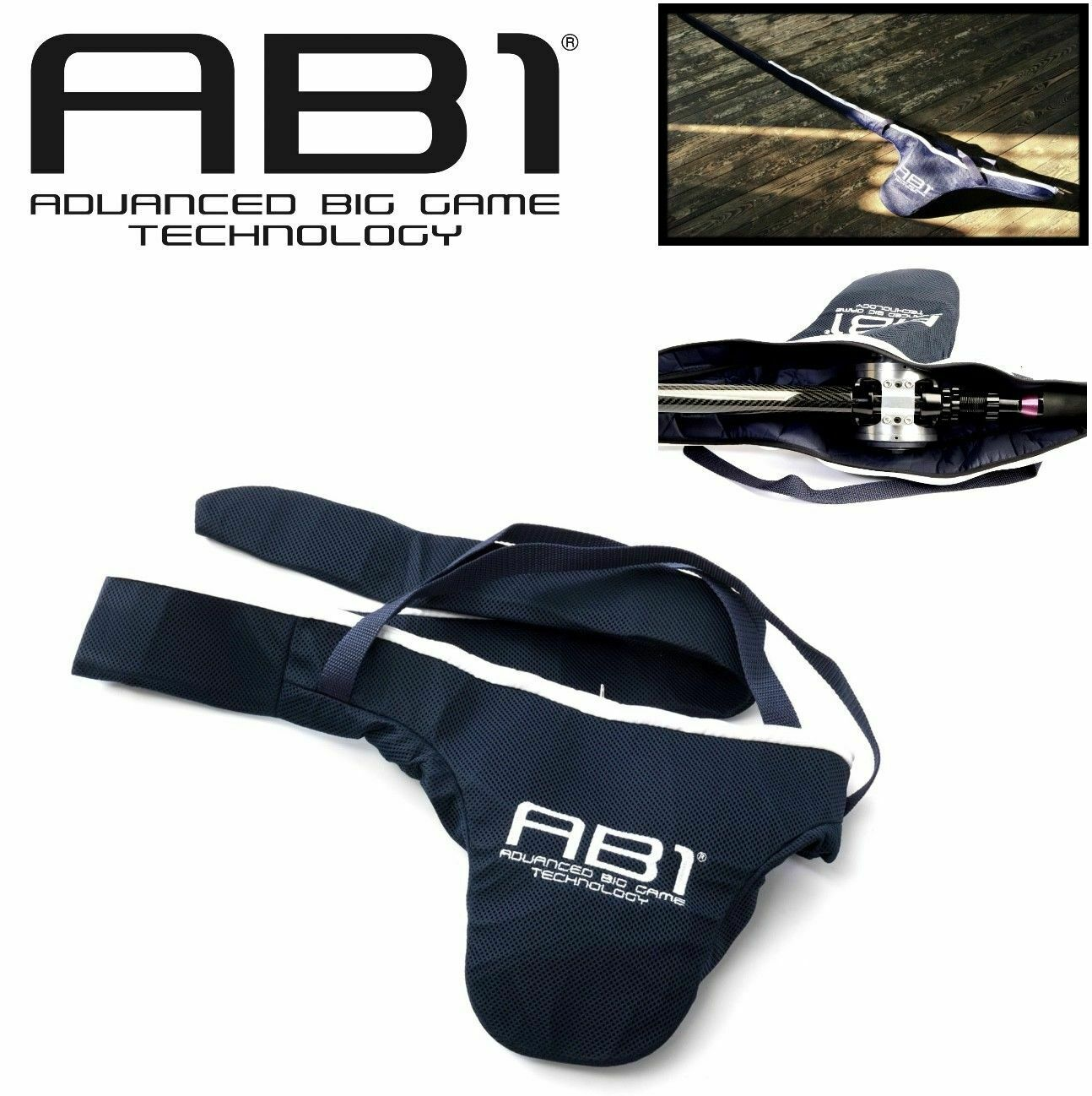 Ab1 Offshore Fishing Rod & Reel Prougeect & Transportation Bags