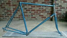 "Tall 25"" Vintage Nishiki Lugged Frame Fork Chrome Molybdenum Classic Road Tour"