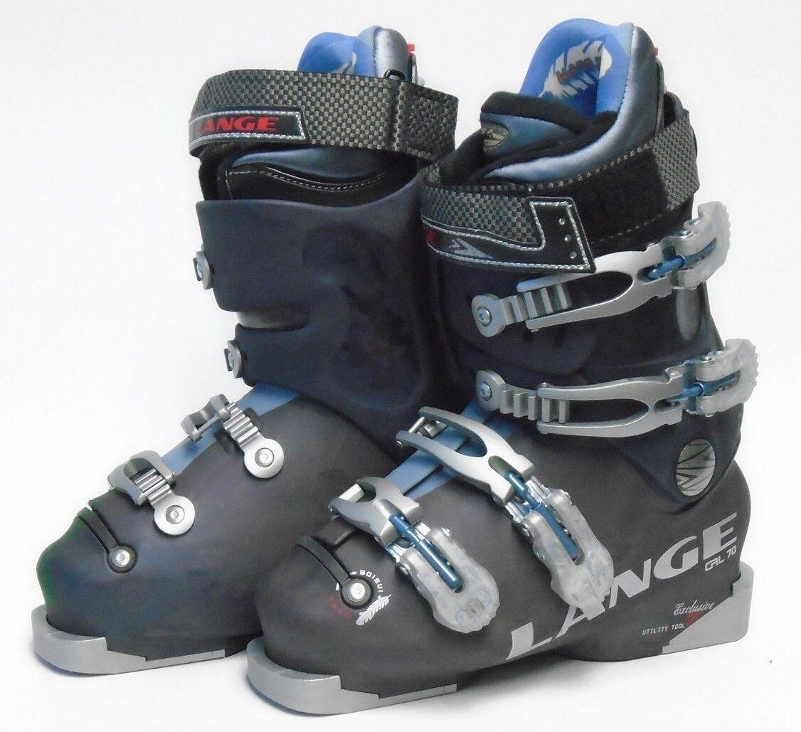 Lange Exclusive CRL 70 Women's Ski Boots - Size 6   Mondo 23 Used