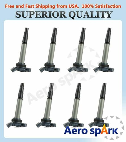Pack of 8 New Ignition Coil 08-15 For Lexus Scion Toyota 1.8L L4 UF596 C1714