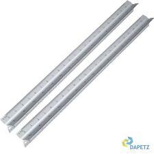 """2 x 30cm Triangular Aluminium Tri Scale Metal Ruler Architect Engineers Rule 12"""""""