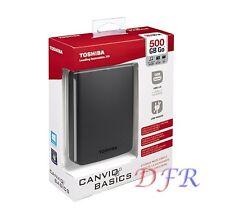 HARD DISK ESTERNO 2,5 500GB USB 3.0 TOSHIBA HD SATA 500GB AUTOALIMENTATO CANVIO