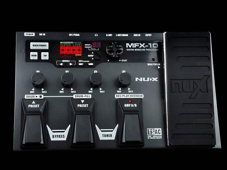 NUX MFX-10 Multi-Effektgerät mit Looper