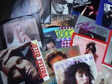 Rock Pop Top 40 Record Collection 100 45s 1970s/80s Picture sleeves EXCELLENT !