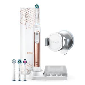 Oral-B Genius 9000S Rose Gold Elektrische Zahnbürste mit Bluetooth