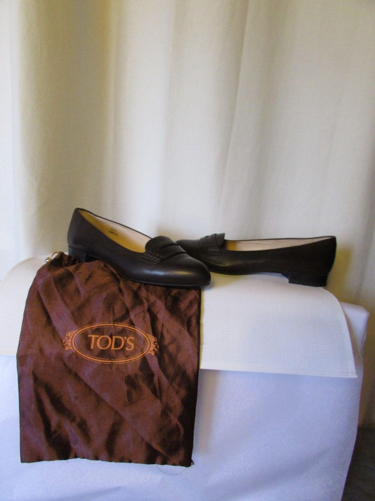 Mocassins tod's cuir marrón pointure pointure pointure 37,5  ventas de salida