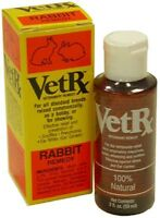 Vetrx Veterinary Remedy For Rabbits - 2 Fluid Ounces: Snuffles & Ear Mites