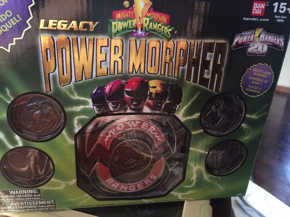 MMPR Mighty Morphin Power Rangers Legacy Power Morpher Rare 20th Anniversary