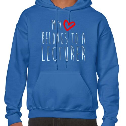 My Heart Belongs To A Lecturer Hoodie
