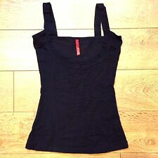 Spanx Strappy Go Lucky Open Bust Cami Camisole Tank Top - Black Sz M Nwot - Z8