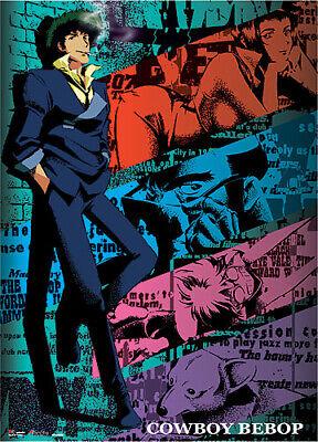 Legit Poster Cowboy Bebop Spike Smoking Faye Ein Jet Group Wallscroll 60604 699858606047 Ebay