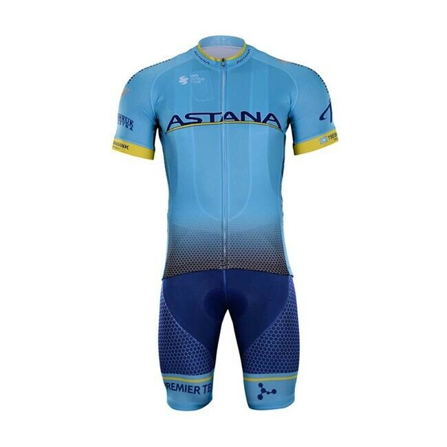 2019 ASTANA  JERSEY BIB HOBBY SET KIT CYCLING TOUR DE FRANCE FUGLSANG LUTSENKO  welcome to order