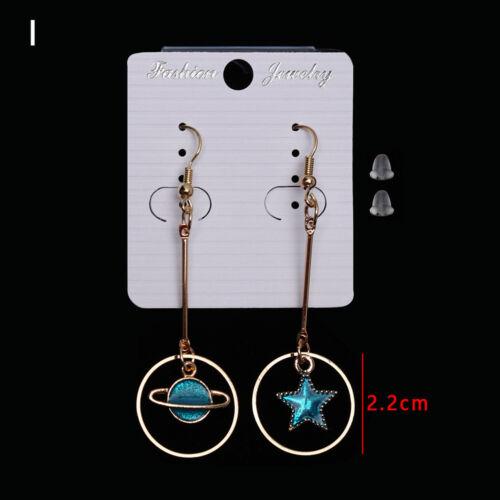 sky l/'oreille asymétriques étalon pendentif symphonie des boucles d/'oreilles