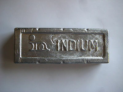 INDIUM ALLOY 117 m.p 117°F for Casting//Holding for Machining 200gm