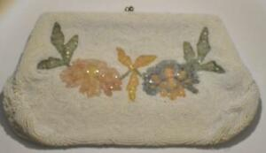 White-floral-design-beaded-Clutch-hand-made-in-Belgium