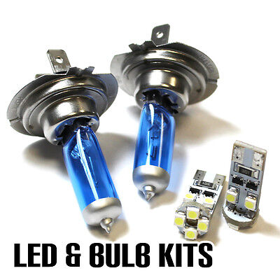H7 501 55w ICE Blue Upgrade Xenon Low//Canbus LED No Error Side Light Bulbs