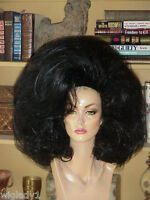 Wow Drag Queen Wig Big Baby Bubble Pick Your Color Teased Volume Body Full Glam