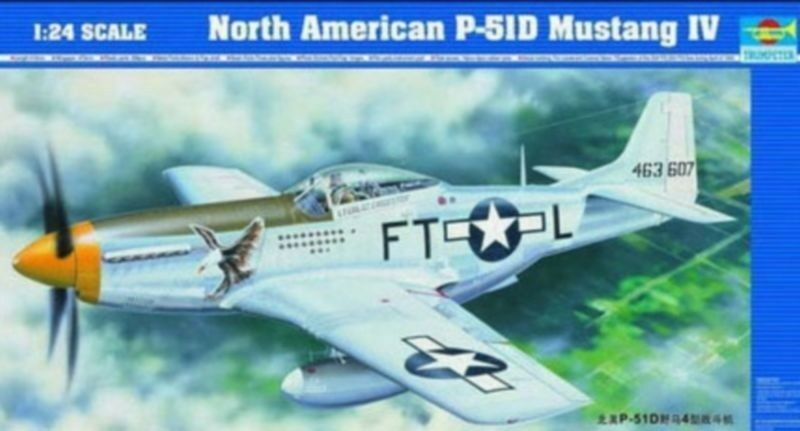 ◆ Trumpeter 1 24  02401 North American P-51D Mustang IV