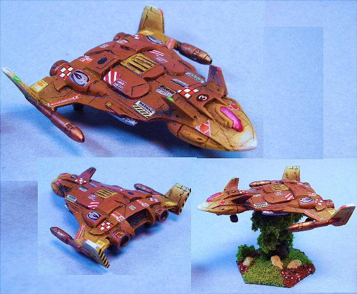 battletech painted Tatsu Aerospace Fighter WG