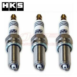 HKS-Super-Fire-M45XL-Spark-Plug-For-HUSTLER-MR41S-2015-5-onwards-R06A-M45XLx3