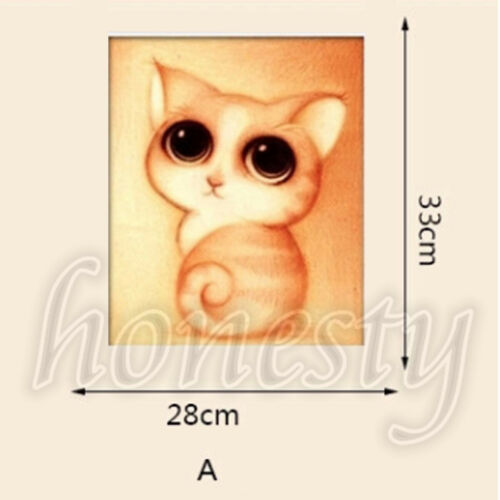 Adorable Cat Pet 5D Diamond Painting DIY Embroidery Cross Stitch Home Decor