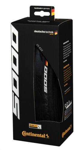 700 X 28 Pneu pliable-Noir Chili Continental Grand Prix 5000 Pneu