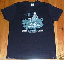 Dave Matthews Band DMB Winter Tour 2012 Blue T-Shirt Schedule Size Small S Shirt