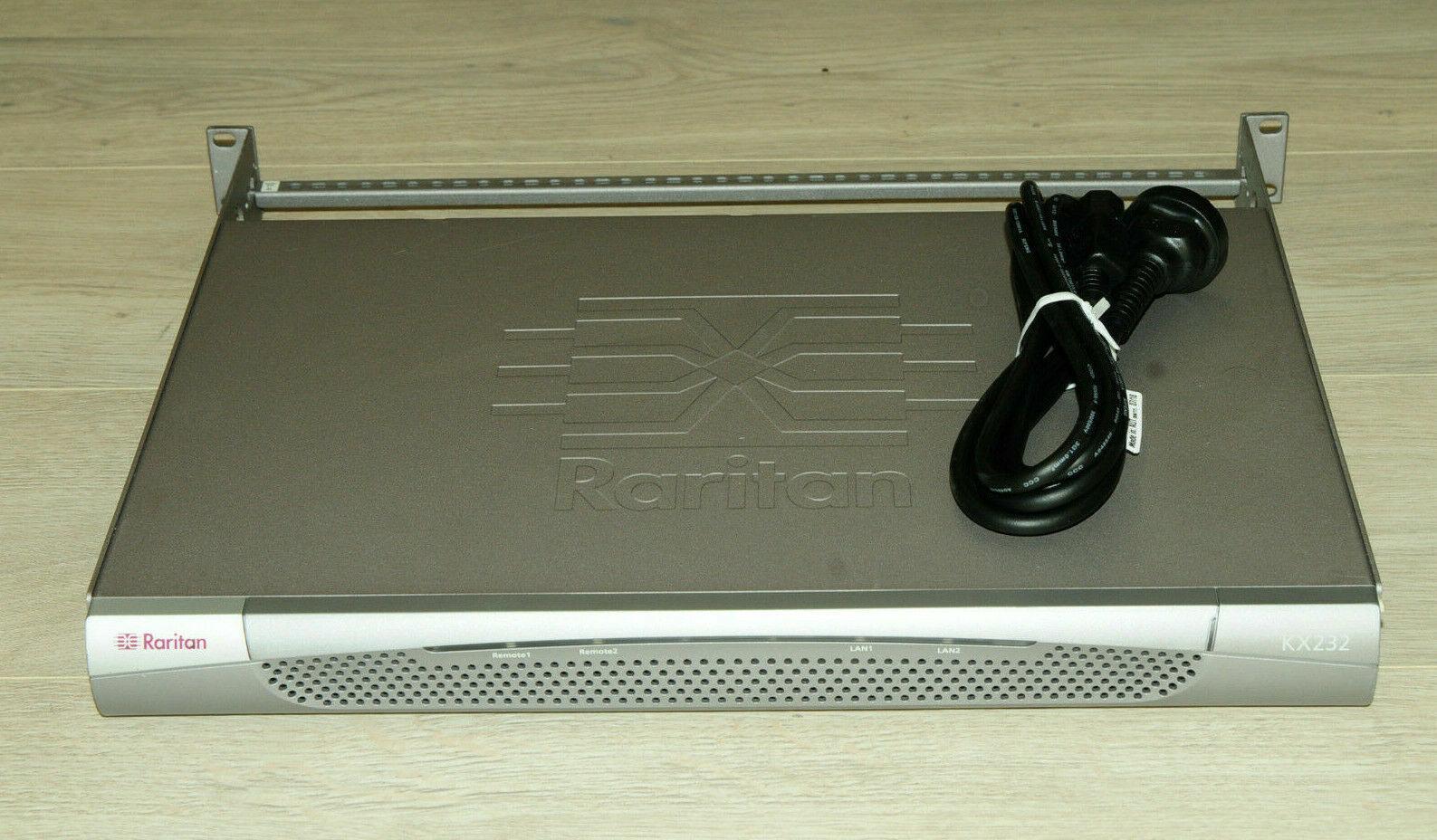 Raritan Dominion KX232 2 User 32 Port KVM Over IP Switch 1YrWty TaxInv