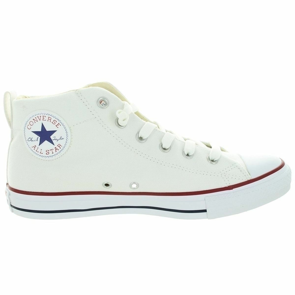 CONVERSE ALL STAR CHOCK TAYLOR HI MEN skor vit 49546F storLEK 12 ny