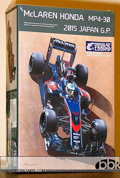 1 20 EBBRO McLAREN HONDA MP4 30 2015 JAPAN GP ALONSO BUTTON