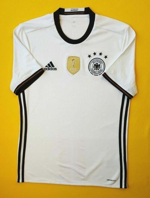 Germany Soccer Jersey XL 2016 Home Shirt AI5014 Football adidas