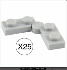 NEW Lego Light BLUISH GRAY HEART for Necklace Made From 2 Parts