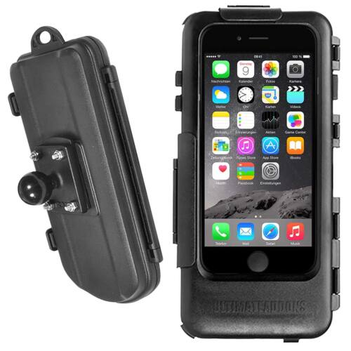 Moto impermeable estuche duro para Apple iPhone 6 6s /& RAM Mount bala aduana 1/""