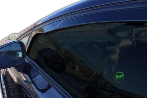28232 Windabweiser SEAT Leon II 4-türer 2006-2012 4tlg HEKO dunkel Regenabweiser