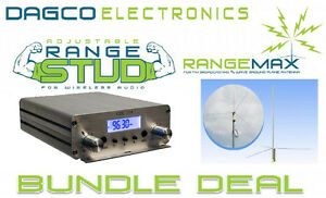 RangeMax 1.0 Pro FM Broadcast Antenna